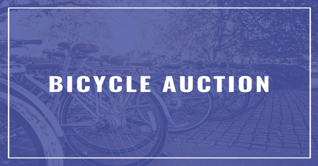2021 Annual City of Winnipeg Bicycle Auction #NotFree