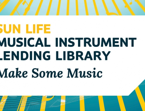 Borrow Musical Instruments from the Library for Free