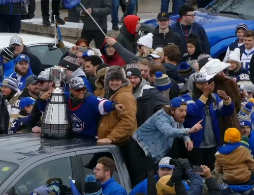 Sights and Sounds @ The Blue Bomber Grey Cup Championship Parade