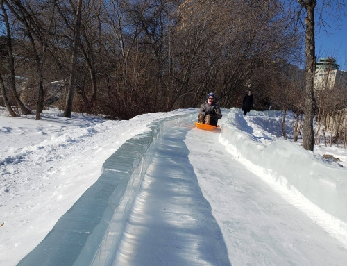 Manitoba 150 Trails & Ice Chute
