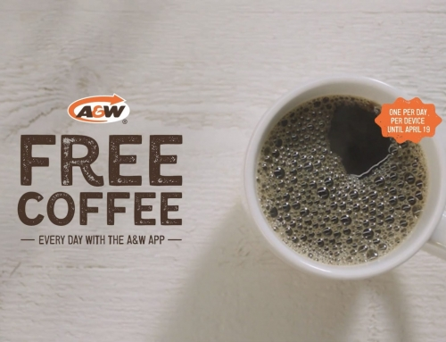 Get A FREE Coffee Every Day Using The A&W App
