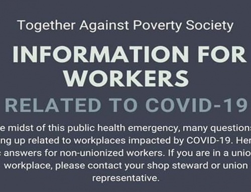 Information for Workers Related to COVID–19