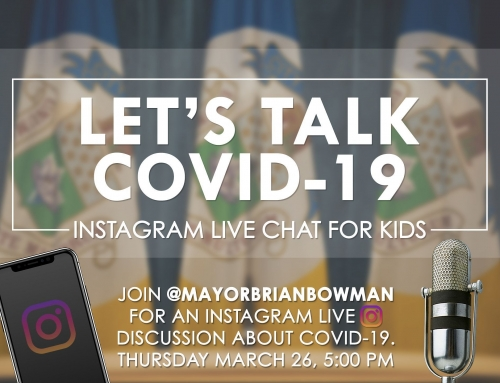 Let's Talk Covid–19 Live Chat for Kids With Mayor Bowman