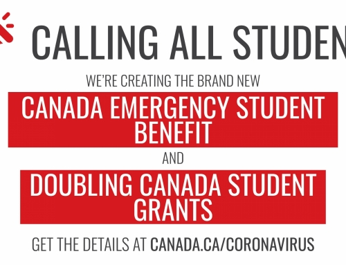 Support For Students And New Grads Affected By COVID-19