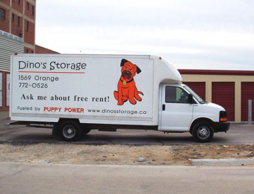 Dino's Storage is Offering a Free Truck for Moving