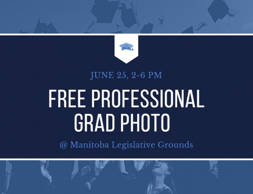 Free Professional Graduation Photo @ Manitoba Legislative Grounds