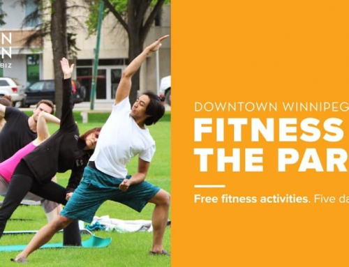 Fitness in the Park @ Downtown Winnipeg on Weekdays