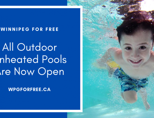 All Outdoor Unheated Pools Are Now Open | Free Admission