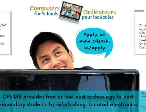 Post Secondary / Adult Ed Students Can Get Free or Low-Cost Computers