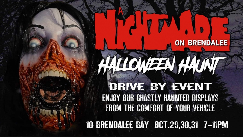 A Nightmare On Brendalee Halloween Haunt Drive By Event