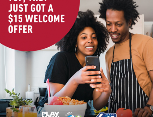 $15 Lotto Welcome Offer on PlayNow.com