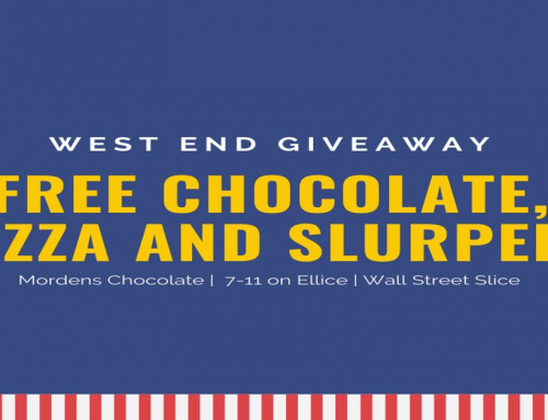 Free Chocolate, Free Slurpees, and Free Pizza This Weekend