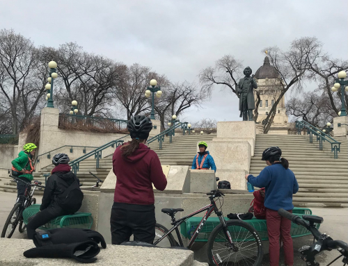 Traditional Trails Free Learning Tour On Bikes