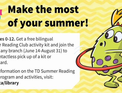 Get A Free Bilingual TD Summer Reading Club Activity Kit For Kids