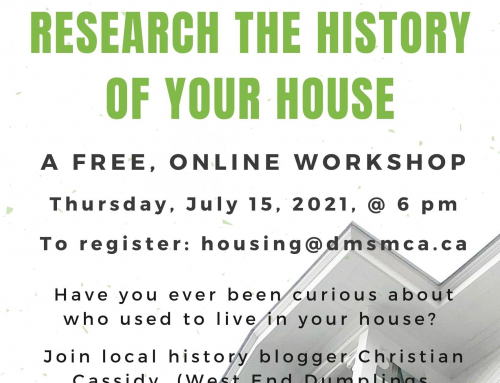 Research the History of Your House Workshop