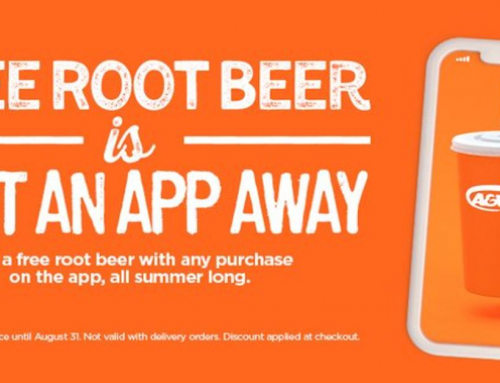 Enjoy Free Root Beer All Month With Any Purchase On The A&W App